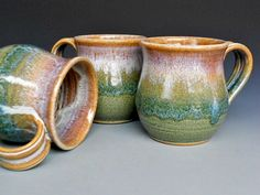 Love these handmade mugs!