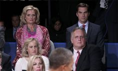 Matt Romney in the audience of...