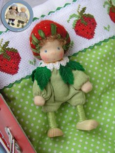 Strawberry doll by Lalinda.pl