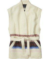 Scotch&Soda smetanová vesta s barevnými motivy Scotch, Soda, Peplum, Amp, Women, Fashion, Moda, Plaid, Beverage