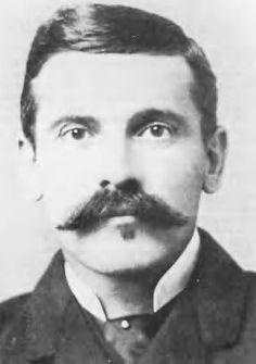 """John Henry """"Doc"""" Holliday, dentist, gambler, born Griffin, Ga.  for Elaine"""
