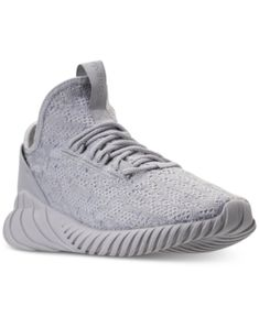 adidas tubulare doom sock primeknit nero / argento scarpe da corsa by9337