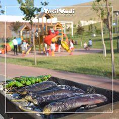 İyisi mi YeşilVadi'ye gelin. Siz piknik yapmanın zevkini yaşarken çocuklarınızda oyun alanlarında eğlensin.