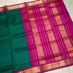 Buy SC4300031-VARNAM Handwoven Silkcotton-Korvai-Green pink beauty, 750g online - Handwoven Kanchivarams,Soft Silks, Silk Cottons and Tussars!