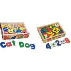 Buy Melissa & Doug Magnetic Wooden Letters and Numbers Bundle securely online today at a great price. Melissa & Doug Magnetic Wooden Letters and Numbers Bundle available today a. Wooden Letters, Letters And Numbers, Melissa & Doug, Toddler Preschool, Magnets, Toys, Baby, Christmas, Wood Letters