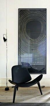 Via Inge Bruinekreeft   Midcentury Modern   Hans Wegner Shell Chair