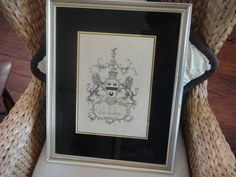 Lee Earl of Litchfield Alexander Jacobs English Peerage Rare Coat Of Arms Pub London 1766-1769 by MilliesAttique on Etsy