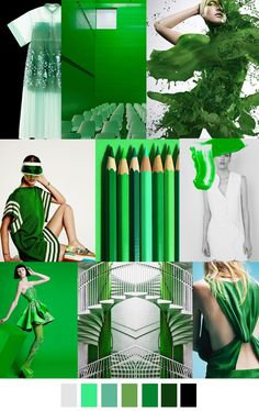 S/S 2017 pattern & colors trends: GREEN MACHINE