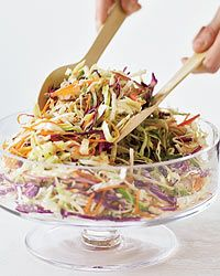 Ginger vinaigrette. I think THIS is the recipe I've been searching for! I never thought to drizzle it on slaw, great idea :)