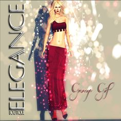 Tatya Elegance SL Freebie When you arrive at Elegance, go upstairs for the group gifts. The Tatya gift is only one of the many free gifts. Group: Free..