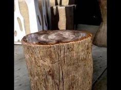 The 5 main reasons to buy a petrified wood side table is that they are very attractive, unusual, durable, appreciation and they can be passed on to your rela. Wood Stumps, Wood Logs, Solid Wood Table, Solid Wood Furniture, Wood Tables, Petrified Wood Table, Log Table, Rustic Table, Side Tables For Sale