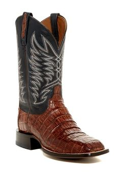 Genuine Caiman Boot by Lucchese on @nordstrom_rack