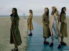 Vogue US Setembro 2014 | Raquel Zimmermann, Anna Ewers + Mais por Annie…
