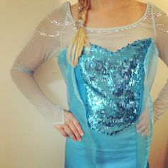 Queen Elsa inspired costume - suitable for running! on Etsy, $550.00