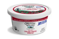 Organic Valley Cream Cheese Spread - Bagels never had it so good!