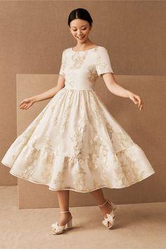 Courthouse Wedding Dress, Civil Wedding Dresses, Formal Dresses, Midi Dresses For Weddings, Reception Dresses, Event Dresses, Unique Dresses, Women's Dresses, Dresses Online