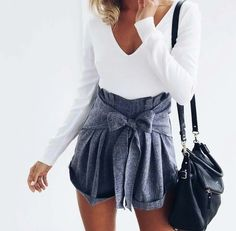 LONG SLEEVED BOW PLAYSUIT