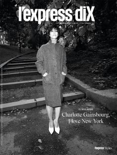 Charlotte Gainsbourg is the Cover Girl of L'Express Styles Magazine Charlotte Gainsbourg, Serge Gainsbourg, Jane Birkin, Shakespeare, Kate Barry, Lars Von Trier, Best Actress Award, Lou Doillon, New York