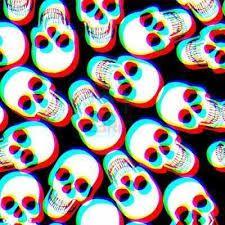891137c34f8aaf22b54615ffc70c9a57  trippy wallpaper skull wallpaper