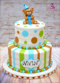 Teddy Bear First Birthday