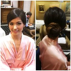 Hair and makeup in rome for asian model nicole soper Asian Wedding Makeup, Wedding Hair And Makeup, Bridal Makeup, Bridal Hairstyle Indian Wedding, Bridal Hair Updo, Celebrity Wedding Hair, Celebrity Weddings, Indian Hairstyles, Bride Hairstyles