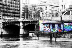 Stadtmalerei - Morbides Wien in Bunt Graffiti, Brooklyn Bridge, Vienna, Bunt, Times Square, Travel, Photos, City, Graphite