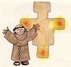 Resultado de imagen para san francisco de asis animado con oveja