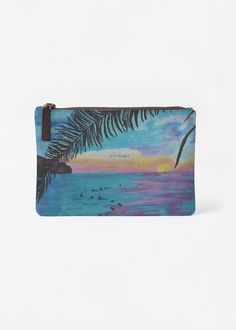 A beautiful and unique carry-all pouch that is perfect for your collection! Shop artistic carry-all pouch's created by designers all around the world. Vida Design, Must Have Items, Carry On, Pouch, Nature Water, The Originals, Credit Cards, Impressionism, My Style