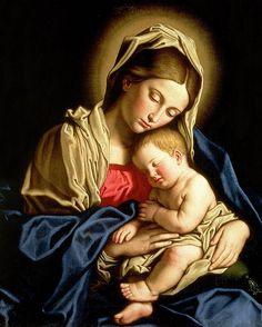 Madonna and child, Il Sassoferrato