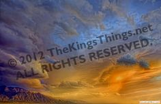 AMAZING CLOUDS in New Mexico by cloud photographer b.j.king of TheKingsThings.net