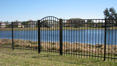 Aluminum fences come in many different styles, colors and grades. With Mossy Oak Fence, you can customize your picket spacing, topper styles, panel heights, decorative accessories (rings, scrolls, finials), and more. Our installation standards for aluminum fencing are second to none. We take pride in delivering beautiful, high-quality aluminum fences at affordable prices! Fence Styles, Aluminum Fence, Mossy Oak, Fence Design, Fencing, Different Styles, Decorative Accessories, Pride, Deck