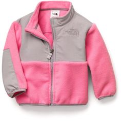 "The North Face® Infant Girls' ""Denali"" Jacket ($52) ❤ liked on Polyvore"