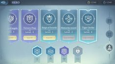 ++ Like the achievements items ++ clear and easy to read, can deploy to see details -- not flat Game Gui, Game Icon, Game Interface, User Interface Design, Ui Color, I Love Games, Game Ui Design, Drawing Games, Ui Design Inspiration