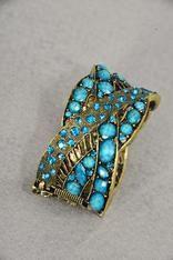 Turquoise golden bracelet Buy it here:http://www.sassnfrass.net/#Lorissaleigh