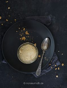 Amarettini-Eis Rezept | Icecream | Recipe | Amarettini Eis | © monsieurmuffin