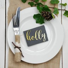 A fabulous decorative name place setting, that is individually laser cut from a choice of oak veneer for a rustic wedding or metallic acrylic.To place your order select the material and colour you would prefer and then be sure to add the quantity (this is the number of names you require) into the quantity box. Once the order has been completed and payment made - all you need to do is pop over the list of names you need us to supply you with and we will work our magic and have these made up…