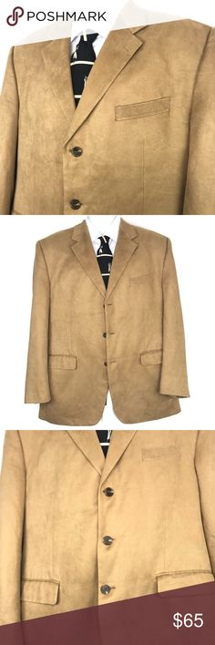 5790955b3c8 Chaps Ralph Lauren Mens 3 Button Blazer Sport Coat Chaps Ralph Lauren Mens  3 Button Blazer