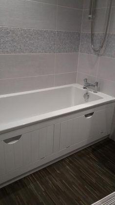 New tidy bath panel