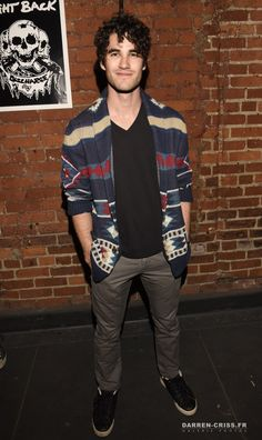 Darren Criss attends the GREEN ROOM Los Angeles premiere