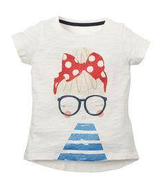 Mothercare Camiseta MC Niña/Gafas - Promocion camisetas 2 x 1 - Mothercare