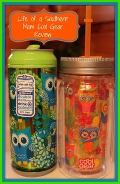 Cool Gear Owl Mason Jar & Hooty Tooty Cool Gear Can {Review}