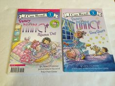 Jane O'Connor FANCY NANCY I Can Read Level 1 Readers Pajama Day Sees Stars New  #ICanRead