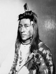 Shoshone Native American Photograph by Granger, 1899