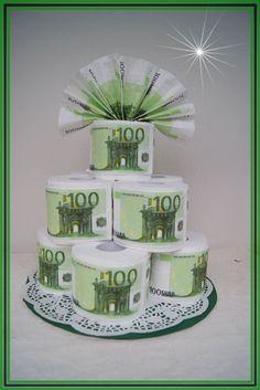 Hochzeitstorten Aus Geld Idee Fur Geldgeschenke Geld Pinterest