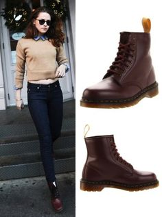 Martens: las botas que fascinan a las celebs Winter Outfits, Casual Outfits, Cute Outfits, Fashion Outfits, Womens Fashion, Dr Martens Outfit, Martens Style, Estilo Rock, Waterproof Winter Boots