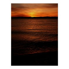 "Discovery Park Sunset 5 Print -  (16.32"" x 21.76"") $14.70"