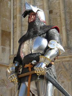 Oudart de Renty Churburg knight armor 14th