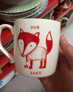 I need this mug in my life.  18 Puns That Are So Bad, They're Good | Pleated-Jeans.com