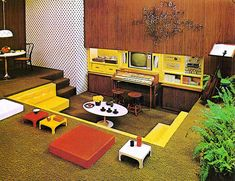 1970s Interiors | ... http://www.retronaut.co/2012/02/encylopedia-of-home-improvement-1970