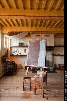 Rembrandt House museum, Amsterdam, Holand -  Studio of the painter in which he painted his.masterpieces 1639_1658..